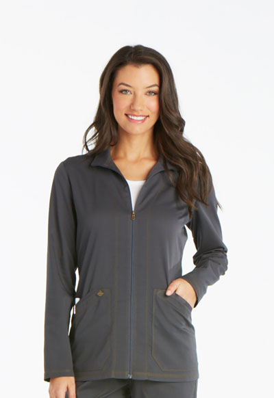 Essence Women Warm-up Jacket Gray