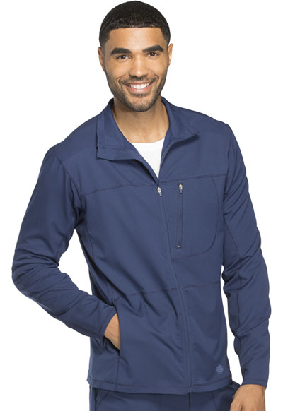 Dickies Dynamix Men's Men's Zip Front Warm-up Jacket Blue