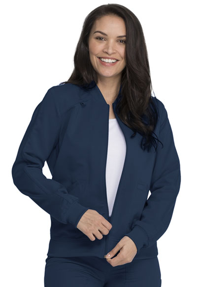 Dickies Balance Women Zip Front Jacket Blue