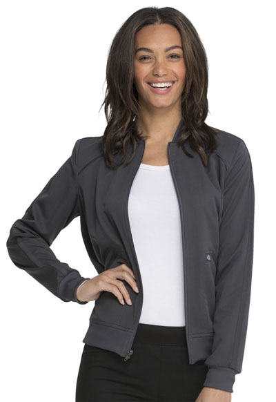 Dickies Balance Women's Zip Front Jacket Gray