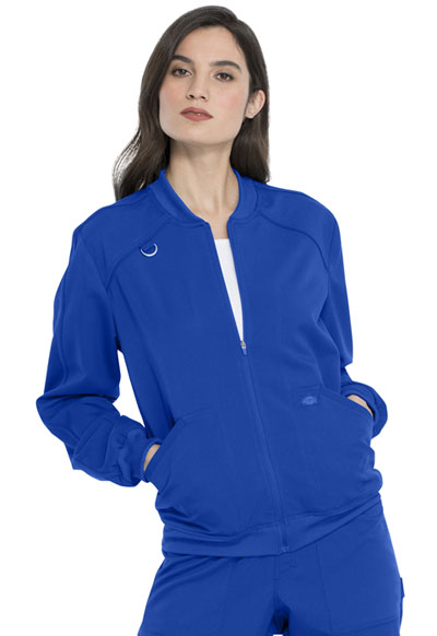 Dickies Balance Women's Zip Front Jacket Blue