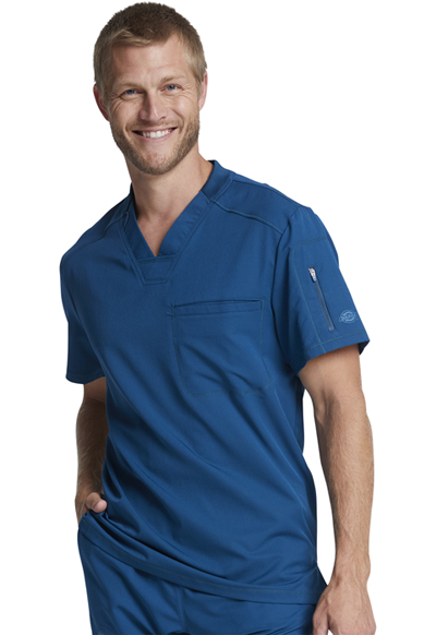 Dynamix Men's Men's V-Neck Top Blue