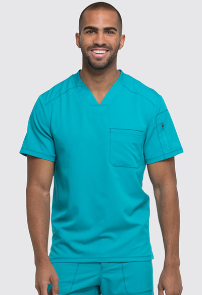 Dickies Dynamix Men's Men's V-Neck Top Blue