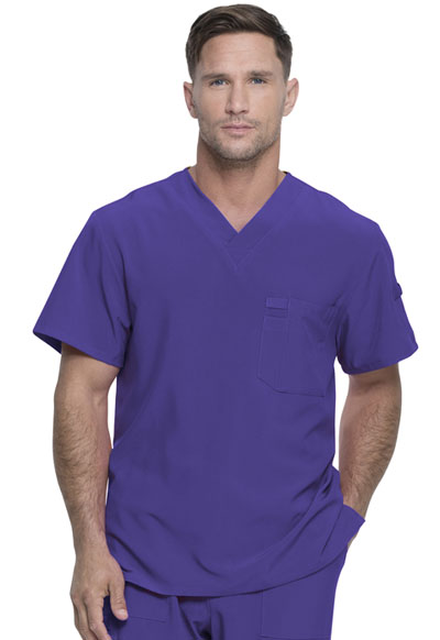 Every Day EDS Essentials Men's Men's V-Neck Top Purple