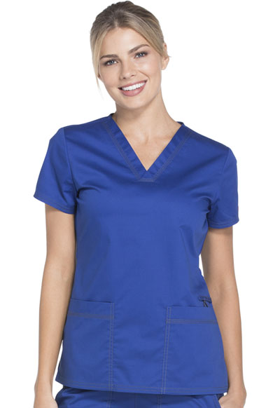 Gen Flex Women's V-Neck Top Blue
