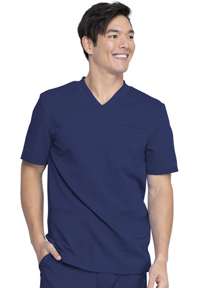 Dickies Balance Men Men's V-Neck Top Blue