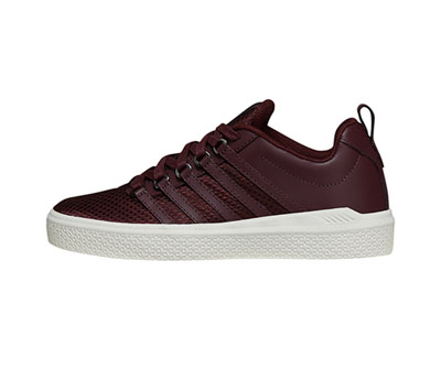 K-Swiss Women's DONOVANWVN VineyardWine,Marshmallow,Pool