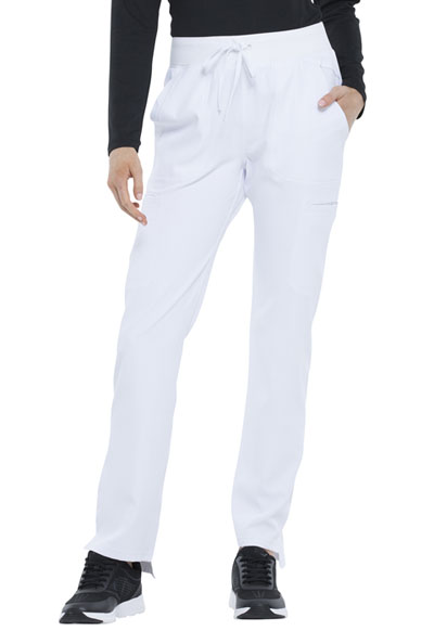 Simply Polished Women's Natural Rise Straight Leg Pant White