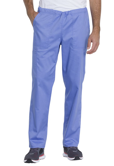 Genuine Dickies Industrial Strength Unisex Unisex Mid Rise Straight Leg Pant Blue