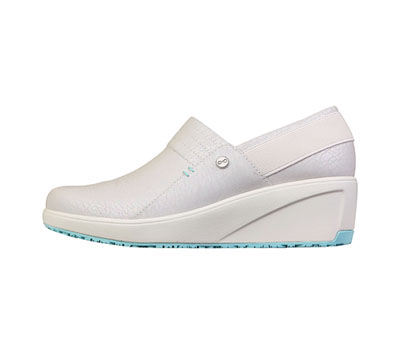 Infinity Footwear Shoes Women GLIDE Iridescent White/Marshmellow