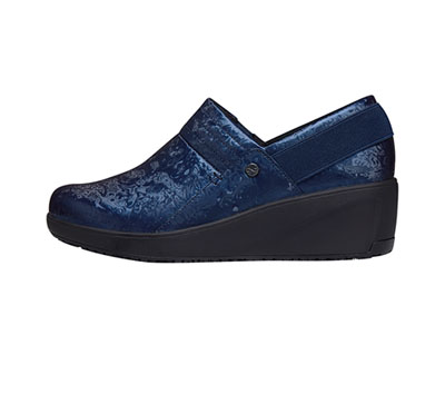 Infinity Footwear Shoes Women's GLIDE Navy with Black