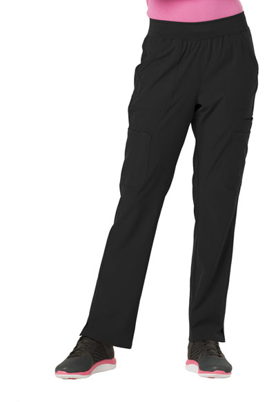 Break on Through Women's Drawn To Love Low Rise Cargo Pant Black