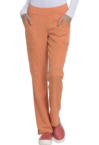Break on Through Women's Drawn To Love Low Rise Cargo Pant Orange