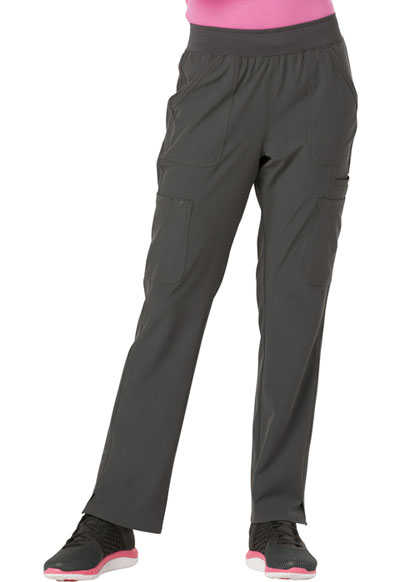 HeartSoul Break on Through Women's Drawn To Love Low Rise Cargo Pant Gray