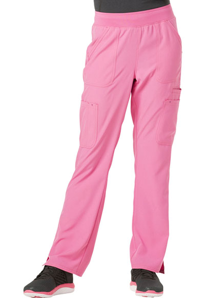 Break on Through Women's Drawn To Love Low Rise Cargo Pant Pink