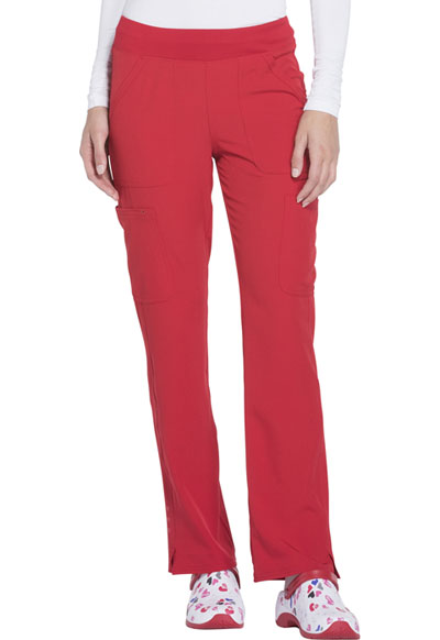 Break on Through Women's Drawn To Love Low Rise Cargo Pant Red