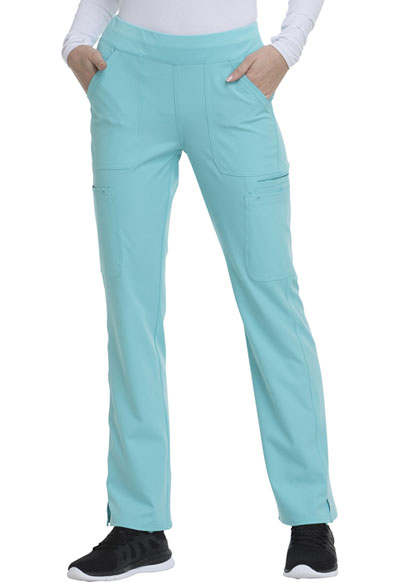 Break on Through Women's Drawn To Love Low Rise Cargo Pant Blue
