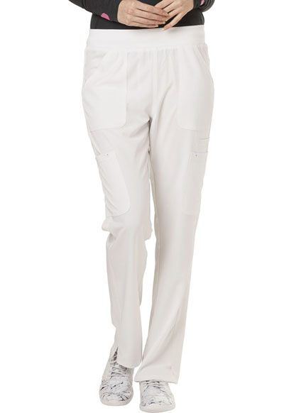 Break on Through Women's Drawn To Love Low Rise Cargo Pant White