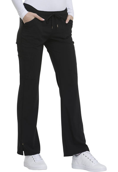 Love Always Women's Low Rise Drawstring Pant Black