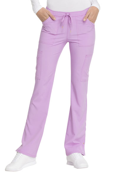 Love Always Women's Low Rise Drawstring Pant Purple