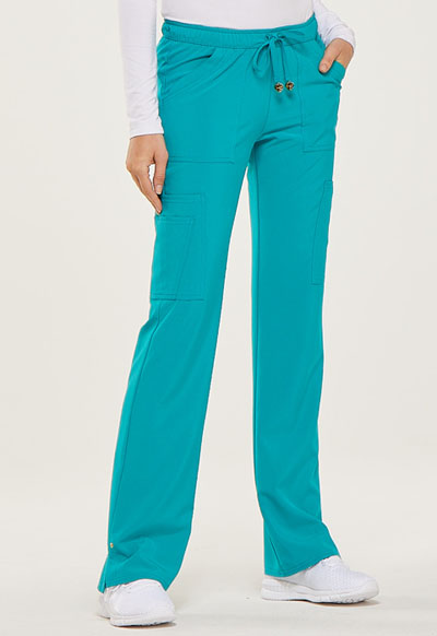 623aaf4ca7c Photograph of Love Always Women's Charmed Low Rise Drawstring Pant Blue  HS025-TLPS