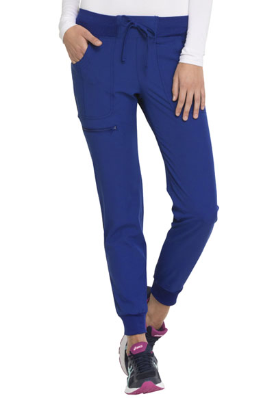 """The Jogger"" Low Rise Tapered Leg Pant in Royal"