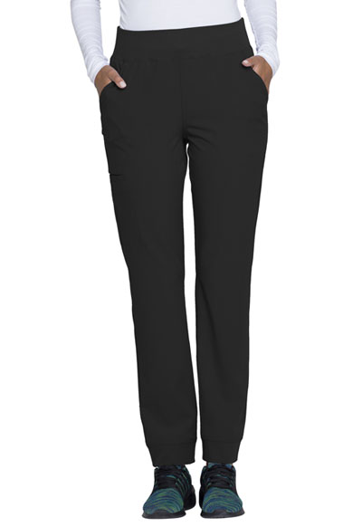 Break on Through Women's Natural Rise Tapered Leg Pant Black