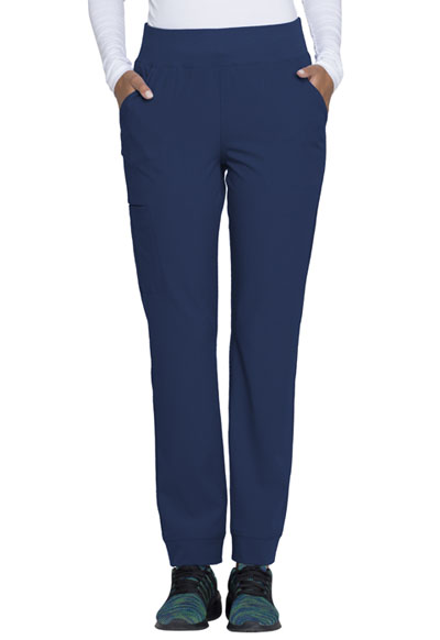 Break on Through Women's Natural Rise Tapered Leg Pant Blue