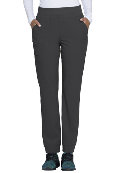 Break on Through Women Natural Rise Tapered Leg Pant Gray