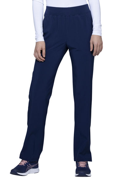 Love Always Women Mid Rise Tapered Leg Pant Blue