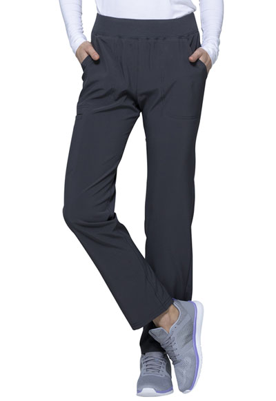 Love Always Women Mid Rise Tapered Leg Pant Gray