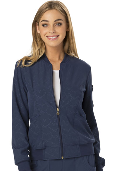 Break on Through Women's U Da Bomb Bomber Jacket Blue