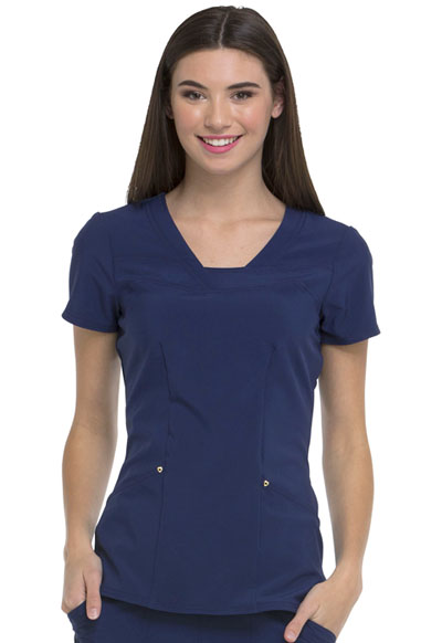 Love Always Women's Serenity V-Neck Top Blue