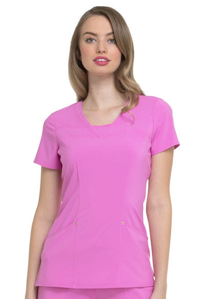 Love Always Women's Serenity V-Neck Top Pink