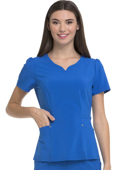 V-Neck Top in Royal