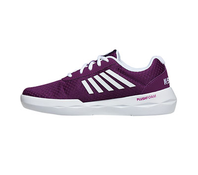 K-Swiss Women's INFINITEFUN Grape Juice, White