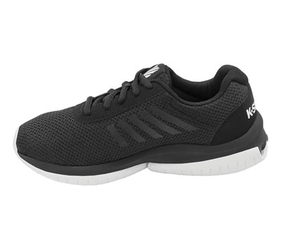 K-Swiss Women's INFINITYTUBES Black on White