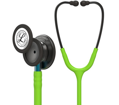 student lightweight Unisex Classic III Monitoring Stethoscope Pop Green