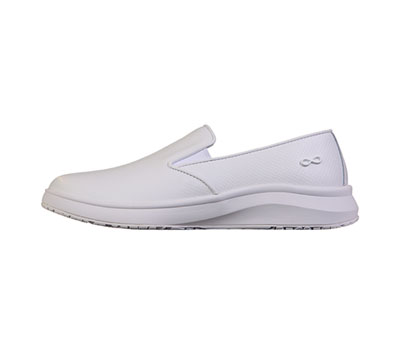 Infinity Footwear Shoes Women LIFT Textured White on White