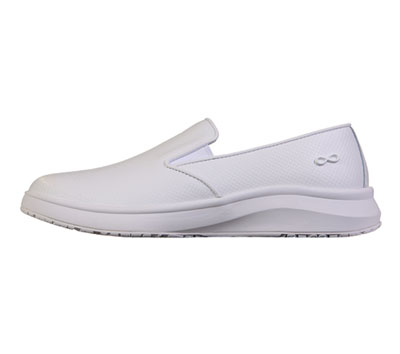 Infinity Footwear Shoes Women LIFT Textured White on White(Wide)