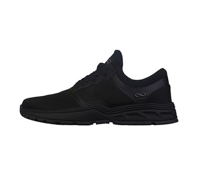 Infinity Footwear Shoes Men's MFLY Black on Black