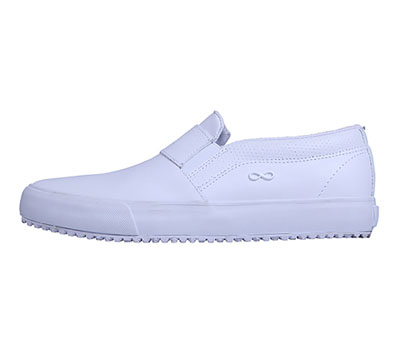 Infinity Footwear Shoes Men's MRUSH White