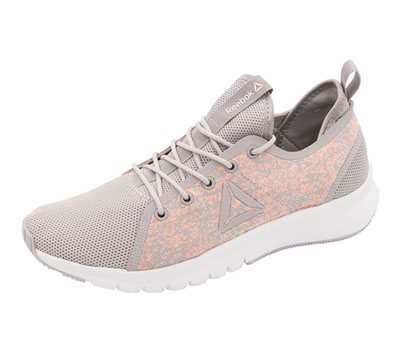 Reebok Women's Premium Athletic Footwear WhisperGrey,Wht,Guava,Melon