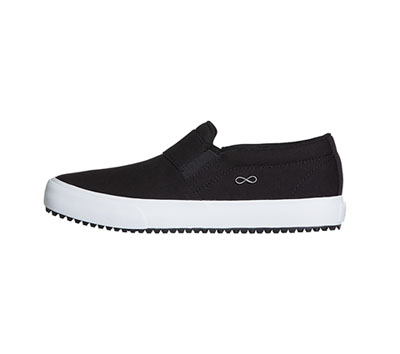Infinity Women's RUSH Black Canvas with White
