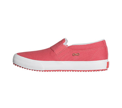 Infinity Footwear Women's RUSH Textile,SpicedCoral,Marshmallo