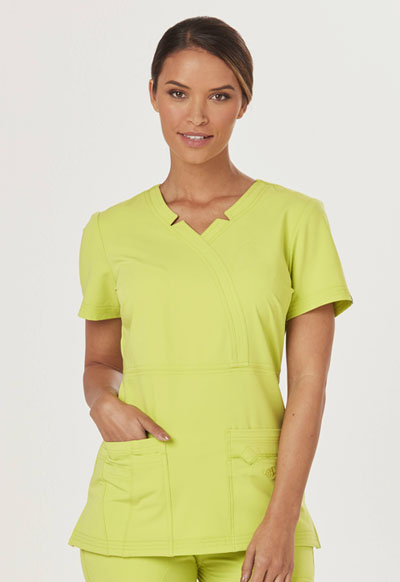Sapphire Women's Madison Mock Wrap Top Green
