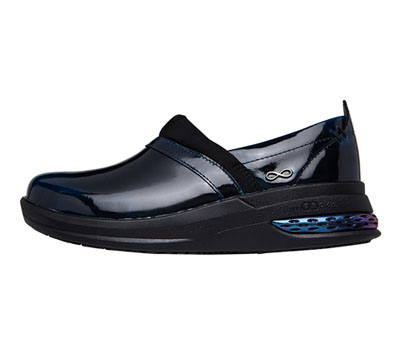 Infinity Footwear Shoes Women STRIDE Midnight Magic Patent
