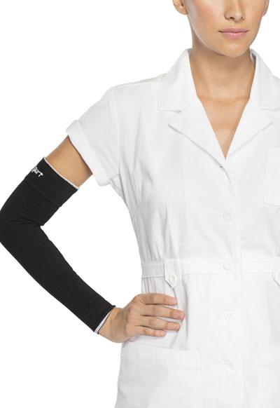Therafirm Unisex 15-20 mmHg Compression Arm Sleeve Black