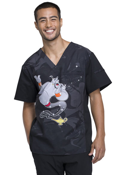 Licensed Prints Men's Men's V-Neck Top Three Wishes