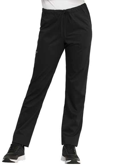 WW Revolution Unisex Unisex Tapered Leg Drawstring Pant Black